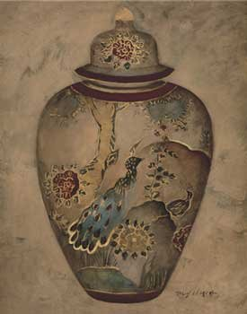 Marilyn Hageman - Imari Urn II NO LONGER IN PRINT - LAST ONE!!