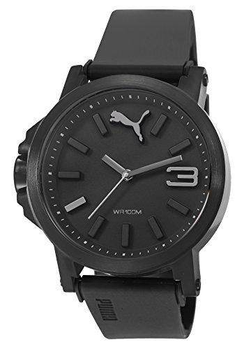 PUMA PU103462015 - Wristwatch, unisex, Plastic, Black Color