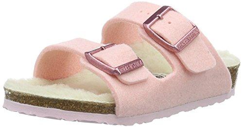 Birkenstock Kids Mädchen Arizona Pantoletten, Pink (Rose), 33 EU