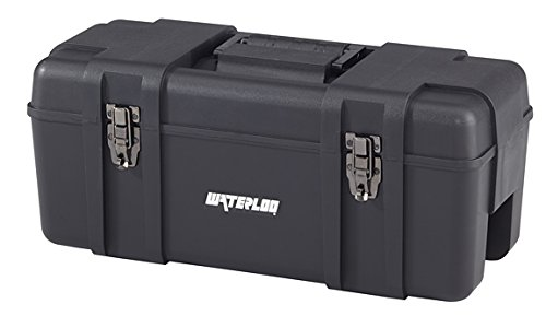 Waterloo Portable Series Tool Box made with Lightweight Industrial-Strength Plastic, 23