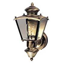 Heath Zenith Charleston Coach Decorative Lantern