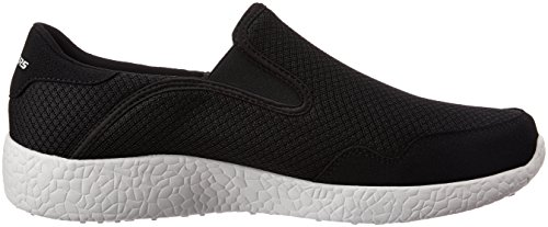 Skechers Burst - Just In Time Herren US 10 Schwarz Wanderschuh EU 43