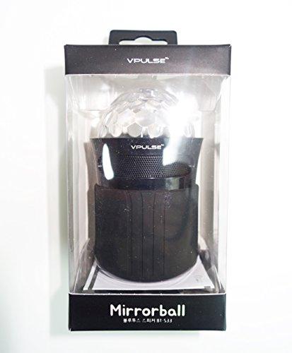 Laser S33 - VPULSE BT-S33 Mirrorball(Light Show) Bluetooth Speakers(Black)