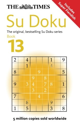 The Times Su Doku Book 13