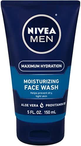 NIVEA Men Maximum Hydration Moisturizing Face Wash 5 Fluid Ounce(Packaging May Vary)