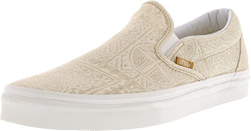 Vans Men's Classic Slip-On Pacific Isle Ankle-High Canvas Skateboarding Shoe