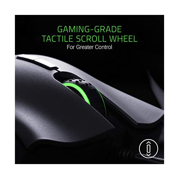Razer DeathAdder Elite Gaming Mouse: 16,000 DPI Optical Sensor - Chroma RGB Lighting - 7 Programmable Buttons…