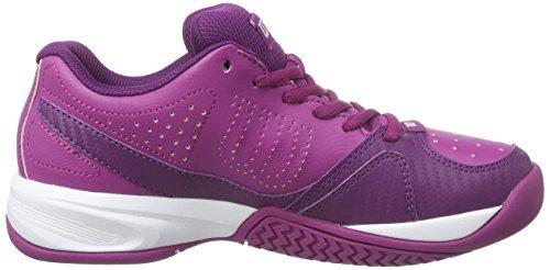 WilsonRUSH OPEN 2.0 W - Zapatillas de Tenis Mujer Rosa (Azalee Pink / Dark Plumberry / White)
