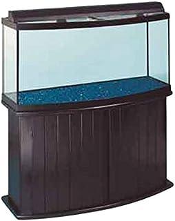 All Glass Aquarium AAG55007 Pine Cabinet 72bf & Amazon.com : Aquatic Fundamentals 72 Gallon Bowfront Aquarium ...