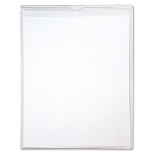 Anglers Vinyl Clear Envelope - ADVANTUS Sturdi-Kleer Multi-Use Polypropylene Envelopes with Flaps, 8.5 x 11 Inches, 10/Pack (ANG1464FL-10)