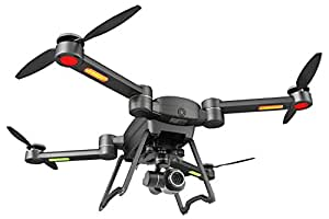 GDU - BYRD Premium 2.0 Drone Professional Quadcopters (4k Camera, 1.24 Mile Drone Control Distance, Anti-Rain, Automatic Return, Full Folding, Fully Stabilized 3-Axis Gimbal, Smart Follow, Portable)