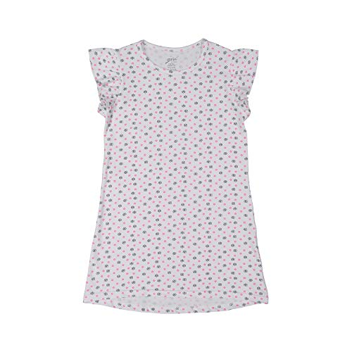 Brix Girls' Short Sleeve Cotton Nightgown - Super
