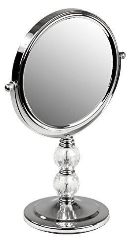 Home Basics Cosmetic Mirror with Crystals good