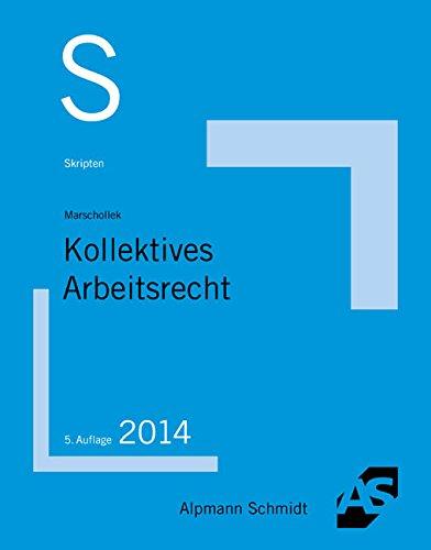 Buch Skript Kollektives Arbeitsrecht Günter Marschollek Pdf Puilepwati