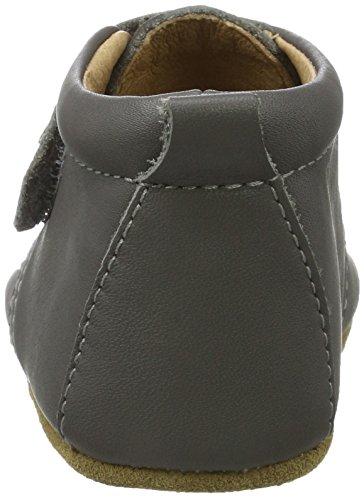 Bisgaard Velcro Star, Zapatillas de estar Por Casa Unisex Niños Gris
