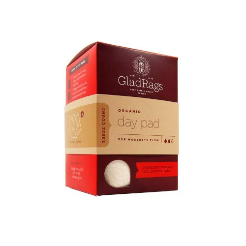 Gladrags Day Pad Natural 1Pk Pk