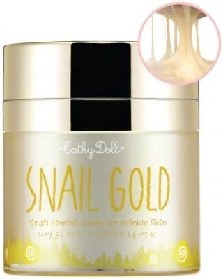 Snail Gold Firming Cream 50g Cathy Doll (For Wrinkle Skin)