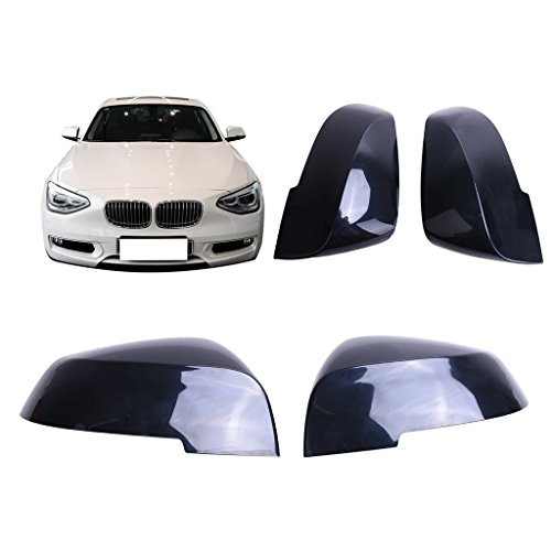 General Mega 1 PCS Left Driver Side Door Mirror Cover Caps Trim Exterior Rearview Covering for 1997-2005 BMW E39 E46