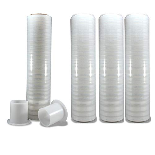 Moving Wrapping Plastic Roll - Perfect Plastic Wrap for Moving, Moving Plastic Wrap Rolls are 18