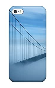 For Iphone 5/5s Protector Case Golden Gate Bridge Phone Cover