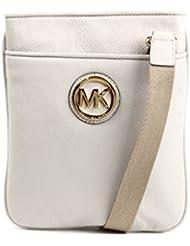 Michael Kors Crossbody MK Logo Messenger Bag