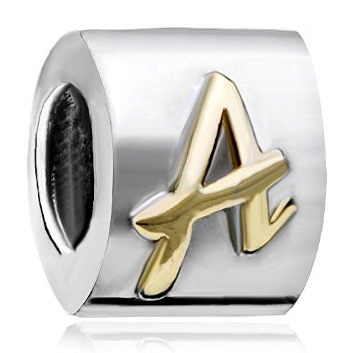 CharmsStory Letter European Alphabet Bracelets
