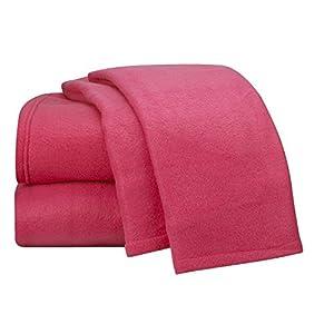 Amazon.com: Cozy Fleece Deep Pocket Bed Sheet - Polar