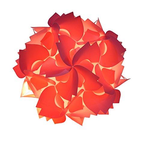 Raylinedo DIY Party Decoration- Puzzle Lampshade - Puzzle lightshade - Ceiling Lamp Shade -Cherry Blossom Shape