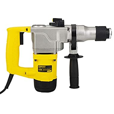 STANLEY STHR272KS 26mm 850-Watt 2 Mode L-Shape SDS-Plus 5Kg Hammer with Kitbox (Yellow and Black) 10