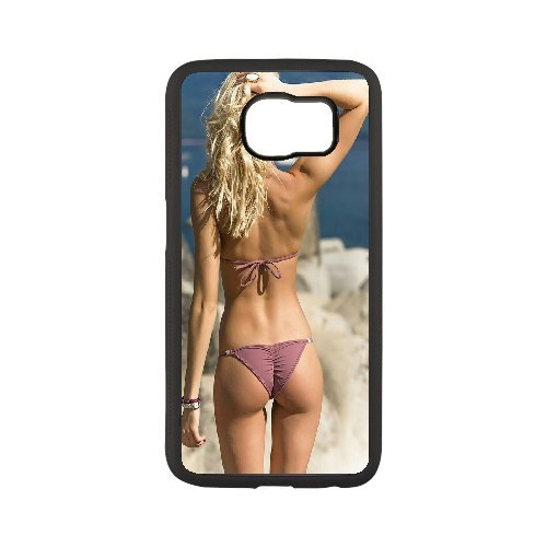 Moxuebaby(TM) High-quality Hard Case Sexy Bikini Girl Pattern for samsung galaxy s7 with Ambiant Ultimate Protection Scratch Proof Vibrant Hard Case(Jet Black)