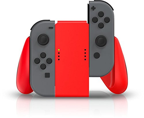 PowerA Joy Con Comfort Grips for Nintendo Switch - Red 2