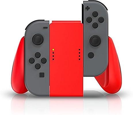 Nintendo Switch Joy Con Comfort Grip (Red) [Importación Inglesa ...