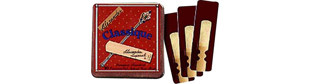 Alexander Reeds Classique Baritone Saxophone Reeds Strength 2.5