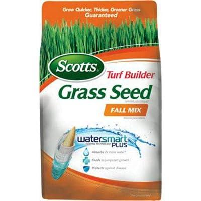 Scotts 18287 Turf Builder Grass Seed Fall Mix, 3 Lbs : Garden & Outdoor
