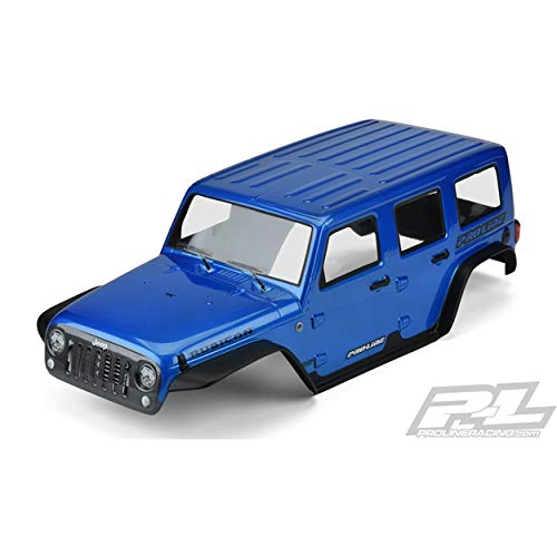 Pro-line Racing Jeep Wrangler Unllimited, Rubicon Blue: 12.8