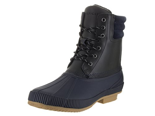 Tommy Hilfiger Mens Claymont Boot Black Multi