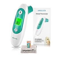 Termómetro Digital Frente y Oído para Bebés, APOLLED
