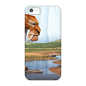 Iphone 5c Hard Back With Bumper Silicone Gel Tpu Case Cover Ice Age Cartoons