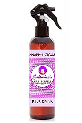 Soultanicals Hair Sorrell Knappylicious Kink Drink 8 oz