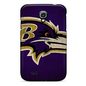 For Galaxy S4 Tpu Phone Case Cover(baltimore Ravens)