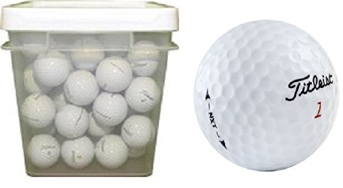 Titleist NXT Assorted Recycled Golf Balls (100-Ball Bucket) by Titleist (Image #1)
