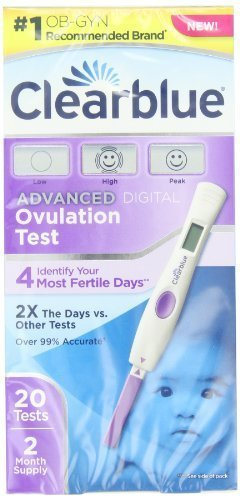 Clearblue Advanced Digital Ovulation Test 20 Count Gift, Baby, NewBorn, Child Hendelman & Co.
