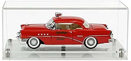 35.7 x 18.2 x 14.1 cm Widdowsons Display Cases 1:18 Scale Model Car Display Case with a Wooden Base Acrylic