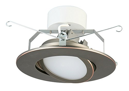 Lithonia Lighting 6 Inch LED Gimbal, Oil Rubbed Bronze, Higher Lumen Version by Lithonia Lighting