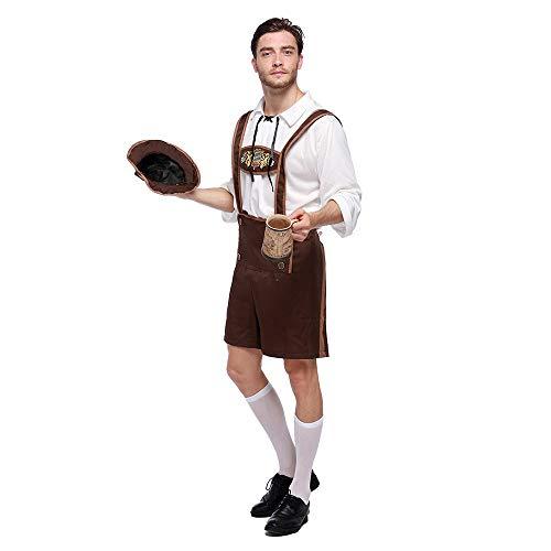 Uomini Spettacoli 6 Tuta beer Bambini Cameriere Donne Cosplay Unisex Ragazze Ragazzi Adulti uomini Outfit Per Teatrali Costume Giovani Natale Wq7AASI