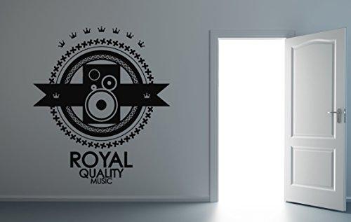 - Royal Quality Music Wall Decal Music Vinyl Sticker Wall Decor (16s)