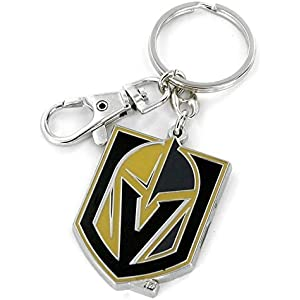 e57f8f28a Amazon.com   Vegas Golden Knights Key Ring Spinner Style   Sports ...