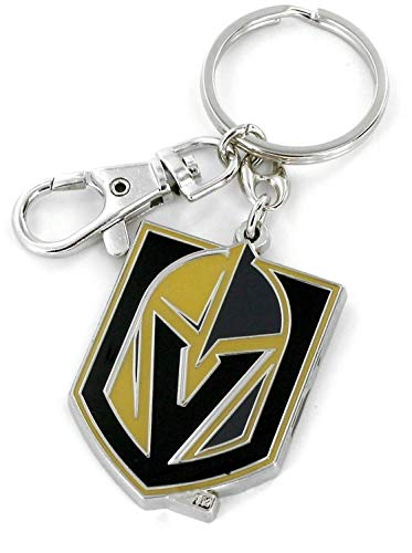 (aminco NHL Vegas Golden Knights Heavyweight Keychain)