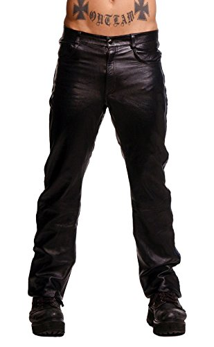 Men's Police Leather Pants Size 32