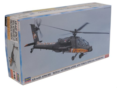1/48 AH-64D Apache Netherlands Air Force Special 07 336 (japan import) by Hasegawa
